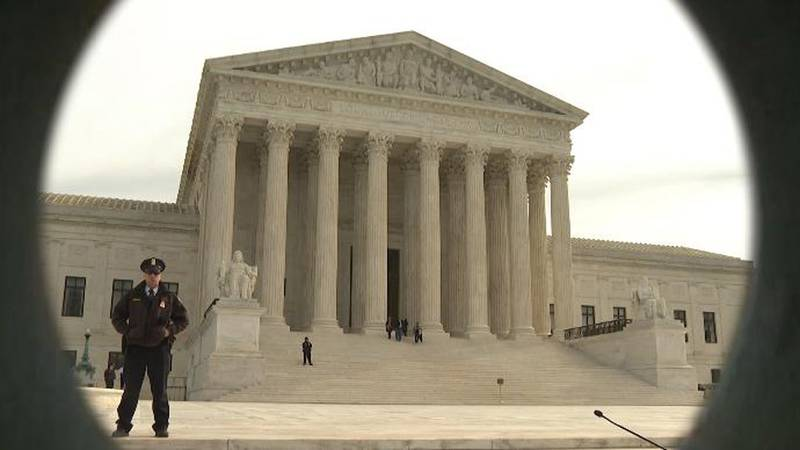 File photo of the U.S. Supreme Court. Photo provided by Gray DC