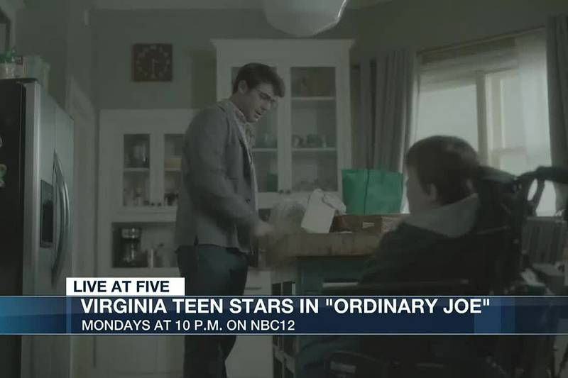 Virginia teen stars in 'Ordinary Joe'