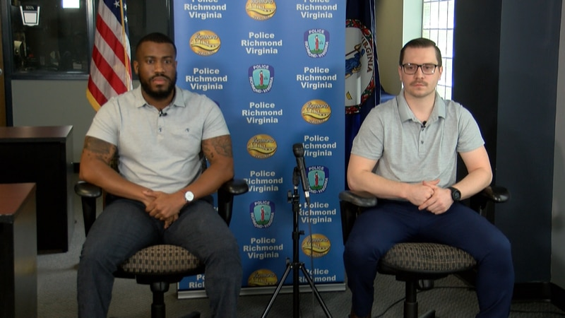 Officers Rashad Martin and Jason Scott speak about their recovery one year after they were shot...