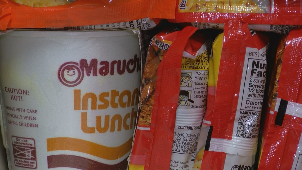 Ramen noodles for ABAC students