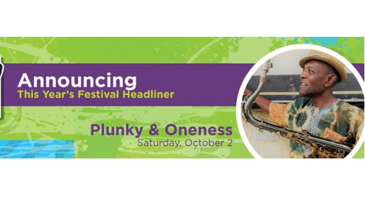 2nd Street headliner, Plunky and Oneness